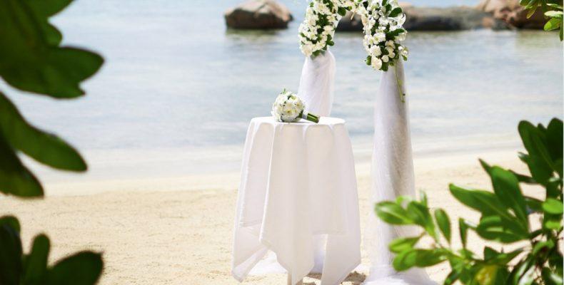 Свадьба в Raffles Praslin Resort 7