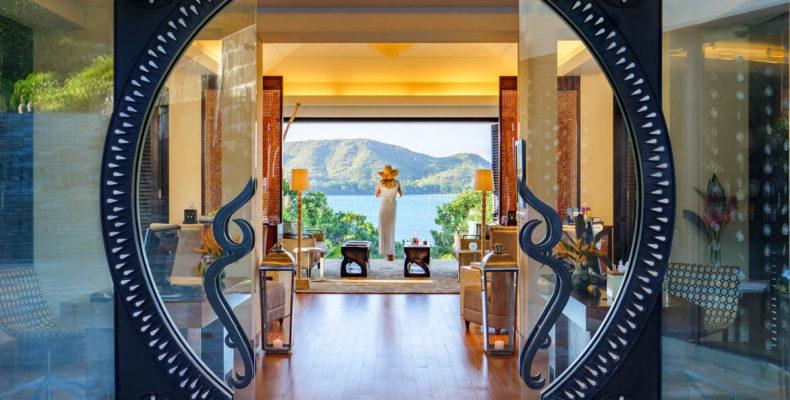 Свадьба в Raffles Praslin Resort 9