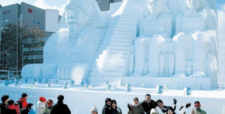 зимний фестиваль в Саппоро 1