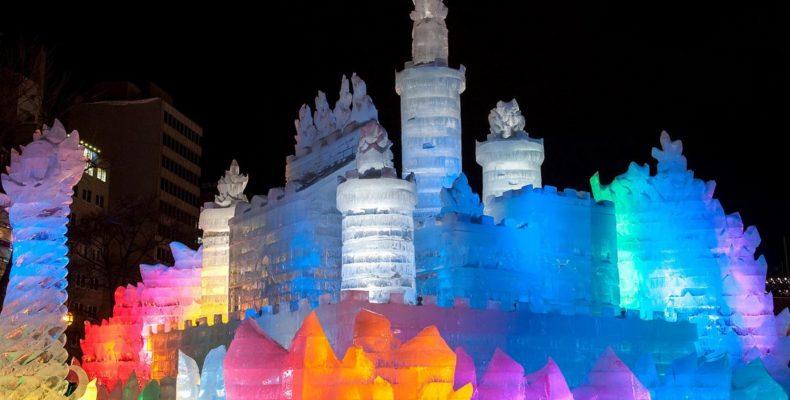 зимний фестиваль в Саппоро 2
