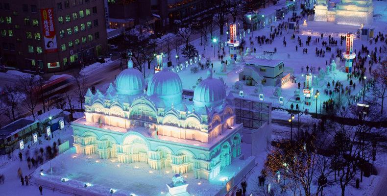 зимний фестиваль в Саппоро 3