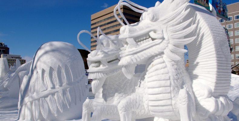 зимний фестиваль в Саппоро 4