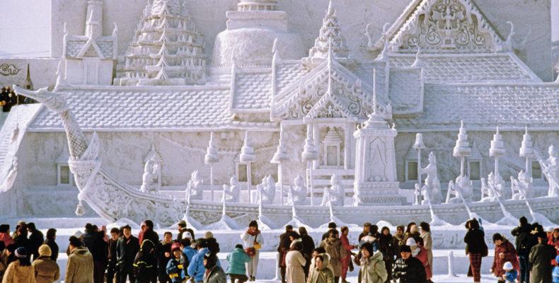 зимний фестиваль в Саппоро 8