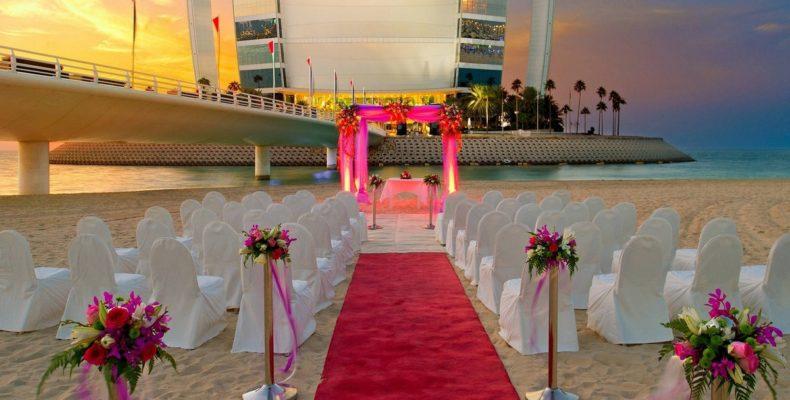 Свадьба Jumeirah Beach Hotel 1