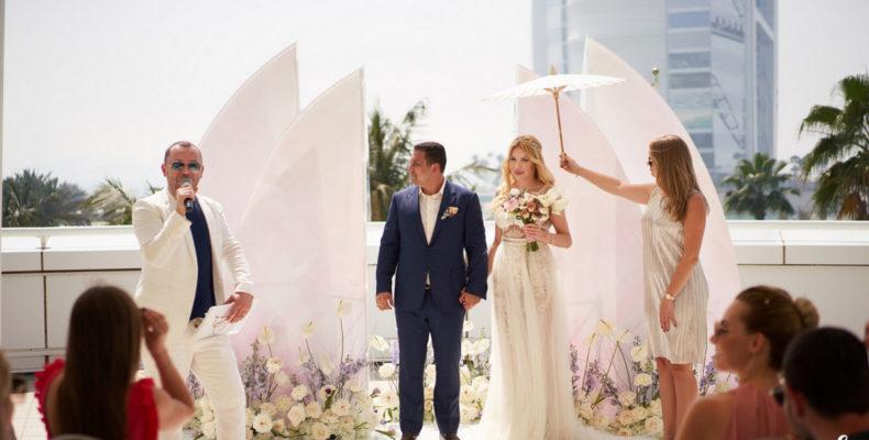 Свадьба Jumeirah Beach Hotel 5