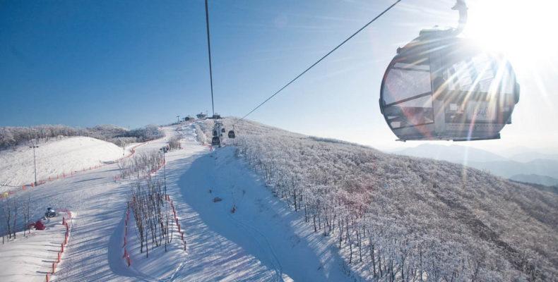горные лыжи в корее 5