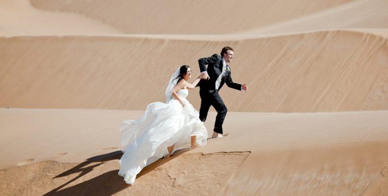 свадьба в пустыне дубаи 1