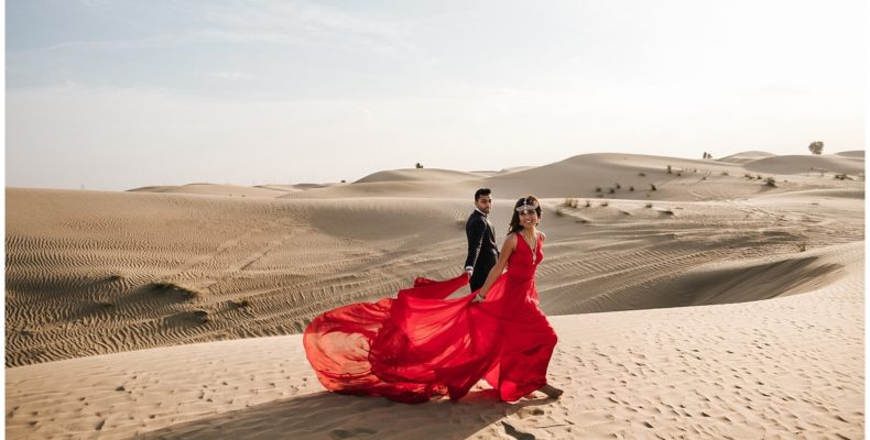 свадьба в пустыне дубаи 2