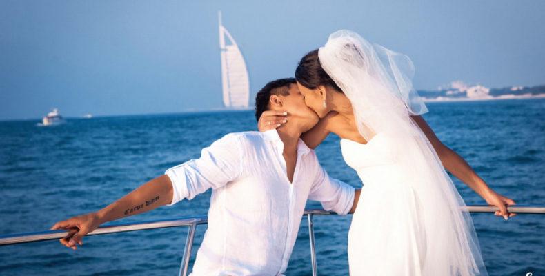 свадьба яхта дубай 1