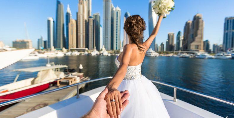 свадьба яхта дубай 2