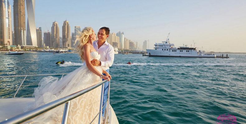 свадьба яхта дубай 4