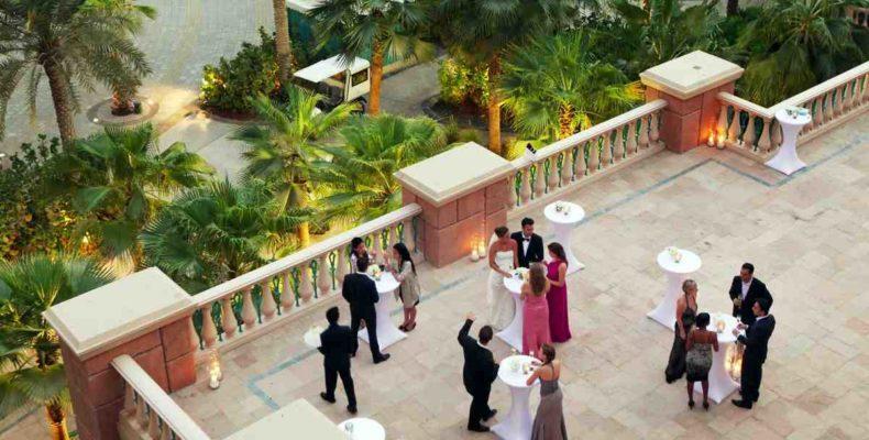 свадьба Atlantis The Palm 2
