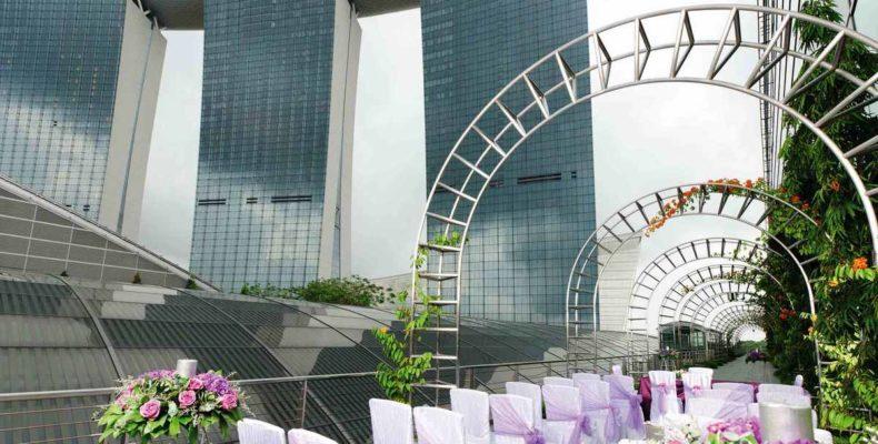 Marina Bay Sands wedding 1