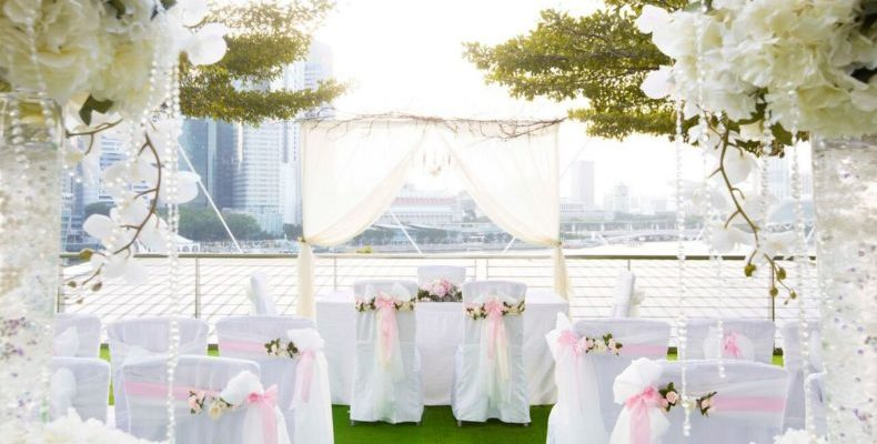Marina Bay Sands wedding 4