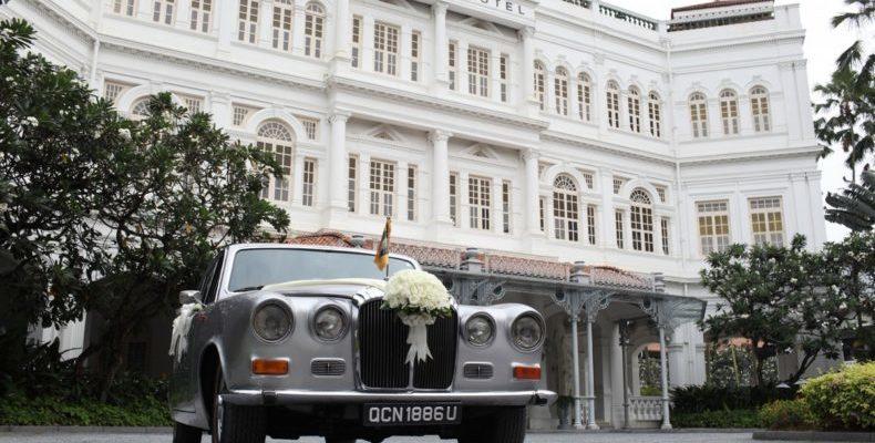 Raffles Hotel Singapore wedding 1