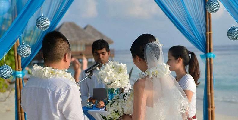 Bandos Resort wedding 1