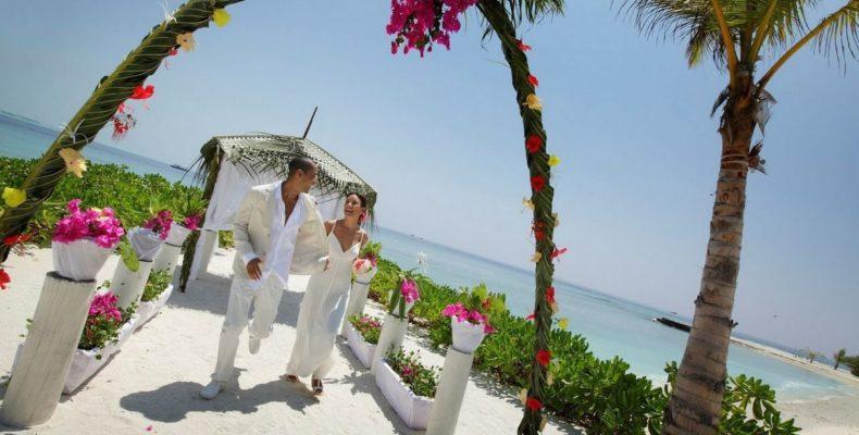 Holiday Inn Resort Kandooma wedding 2