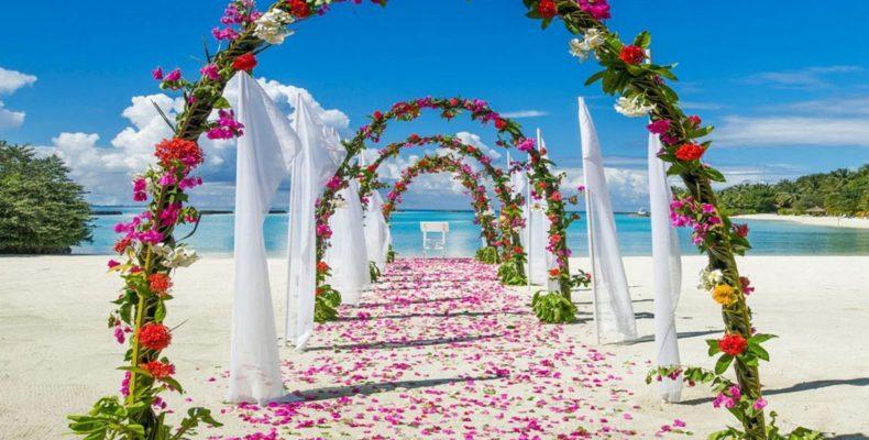 Olhuveli Resort wedding