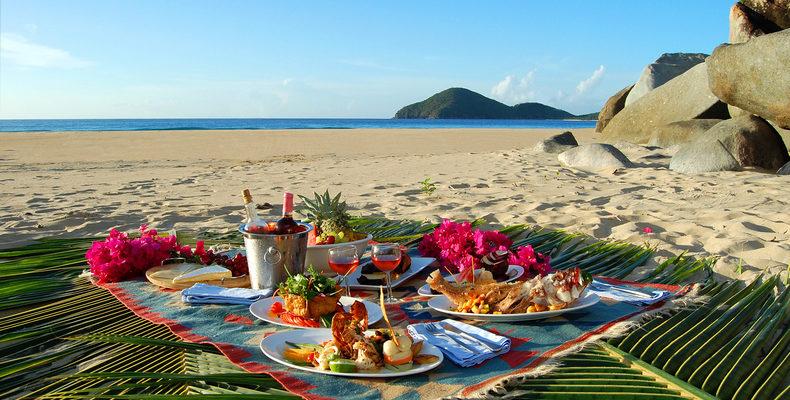 Медовый месяц на Кубе - романтический пикник на пляже 2