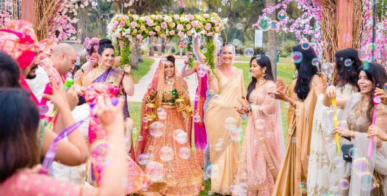 Свадьба в Индии титул 1