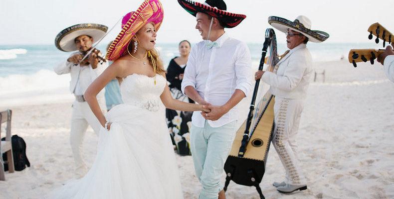 свадьба в мексике 1