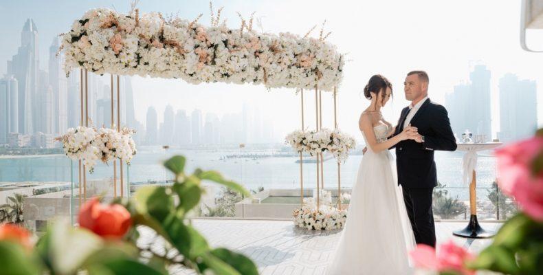 Свадьба с видом на небоскребы 7
